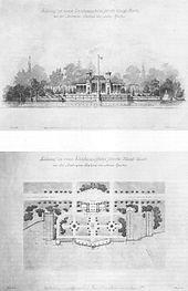 Beautiful Entwurf Zu Einem Landungsplatze Für Die Königl: Boote Bei Der  Matrosen Station Am Neuen Garten, Juli 1888, Franz Haeberlin