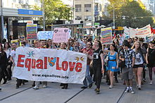 Equal Love Rally in Melbourne.JPG