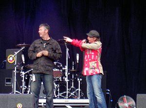 Eric Corton - Eric Corton en Giel Beelen, Pinkpop 2007.jpg