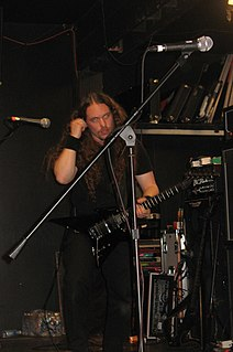 Erik Rutan American singer