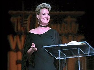 Erin Brockovich - Brockovich speaking at the Arizona Ultimate Women's Expo in Phoenix, AZ - October 2016