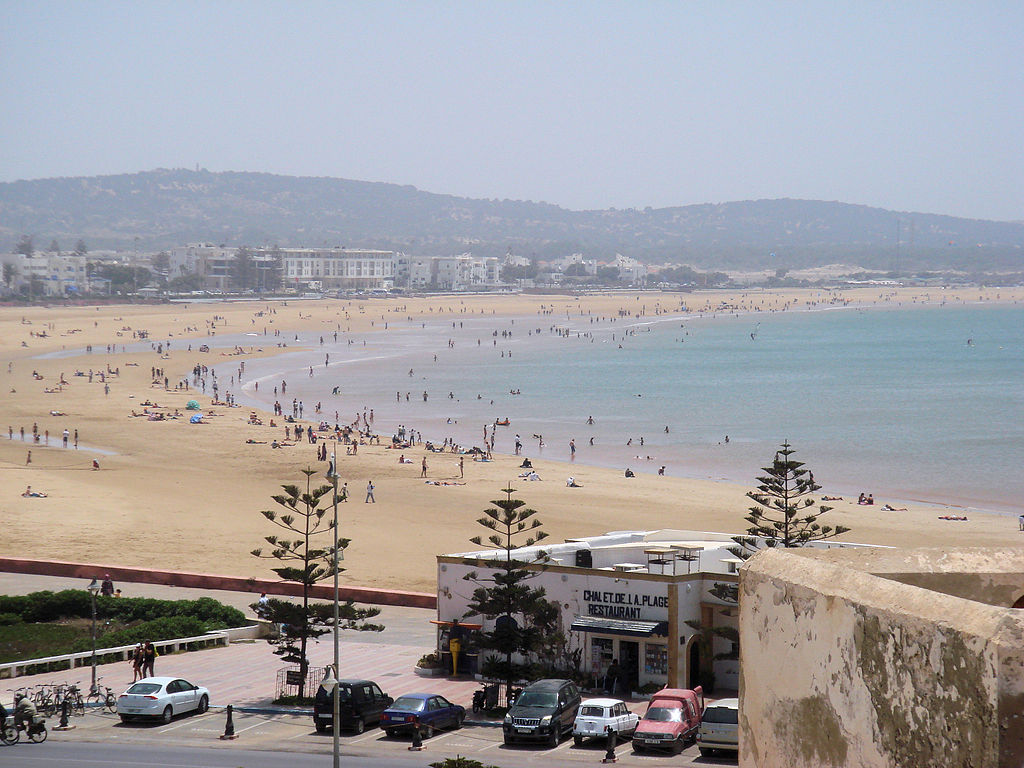 Plage d'Essaouira au Maroc - Photo d'Uploadmo