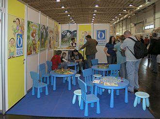 Queen Games - Queen Kids display at Essen Spiel 2008