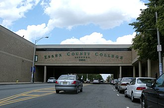 Essex County College - Newark Campus view from Dr. Martin Luther King, Jr. Blvd.