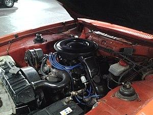 Ford Essex V6 engine (UK) - Post-October 1971 version of the Essex V6
