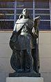 Estàtua d'Ausiàs March, biblioteca municipal central de València.JPG