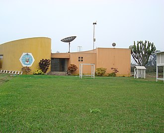 National Agrarian University - Image: Estacion de meteoro