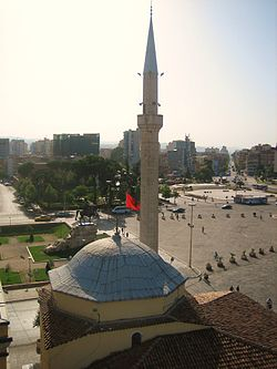 Et'hem Bey Mosque from Clock Tower 2.jpg