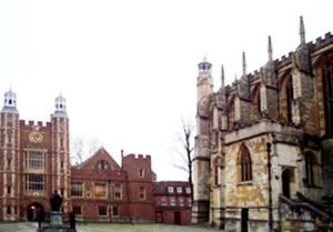 H. Jones - School Yard, Eton College