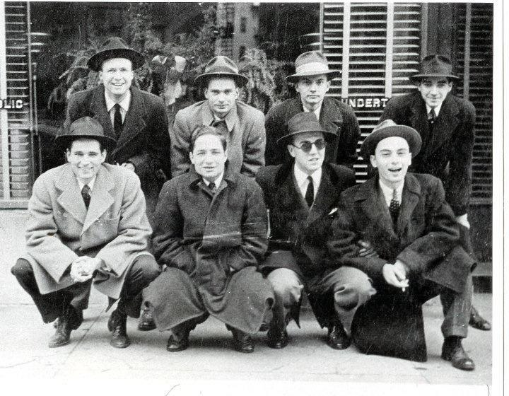 Eugene P. Emond and friends