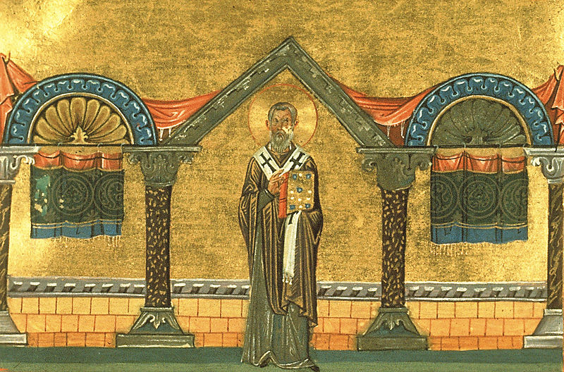 File:Eulogius of Alexandria (Menologion of Basil II).jpg