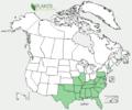 Euphorbia pubentissima US-dist-map.png