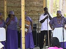 File:Exhibit Showcases Endangered Culture Embraced by African Americans in US South.ogv