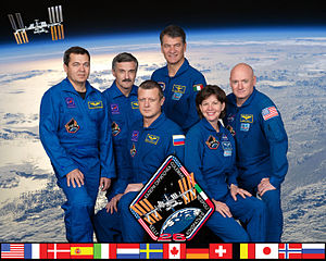 Expedition 26 - Image: Expedition 26 crew portrait