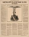 Extrait du Moniteur Universel - sénatus-consulte et décret sur le rétablissement de l'Empire.png