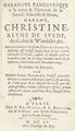 Författare Johann Freinsheim 1608-1660. Hyllnings bok i drottning Kristinas ära - Skoklosters slott - 91429.tif
