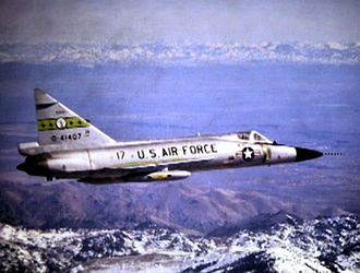 190th Fighter Squadron - 190th Fighter-Interceptor Squadron Convair F-102A 54-1407, about 1967