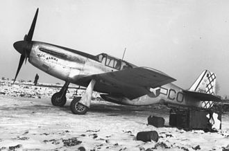 111th Reconnaissance Squadron - 111th Tactical Recon Squadron (photo variant of P-51C) Northern France December 1944