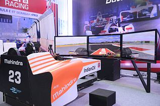 F1 Simulator in Techfest 2017