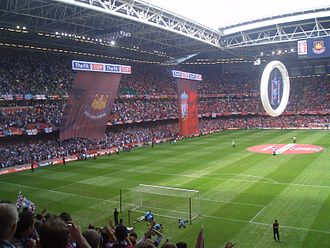 2005–06 FA Cup - Liverpool vs West Ham United before the FA Cup Final at the Millennium Stadium.