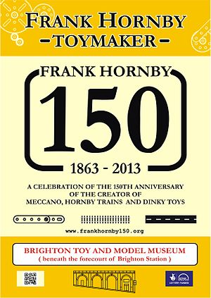 Frank Hornby - Poster for the 2013 Heritage Lottery Fund-supported anniversary project
