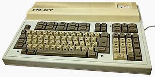 FM-7 1982 Fujitsu home computer