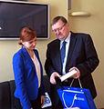 FM Keit Pentus-Rosimannus met with Lithuanian Justice Minister Juozas Bernatonis in Vilnius (17044814118).jpg
