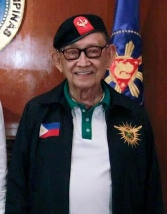 Fidel Ramos - Ramos at the Malacañan Palace State Dining Room in July 2016