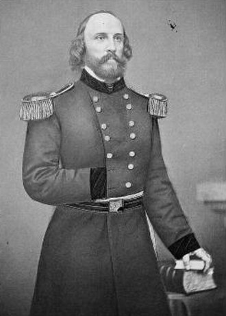 Numaga - Frederick W. Lander, who negotiated peace with Numaga