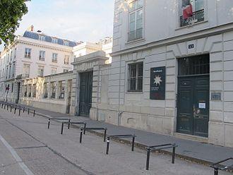 Lycée et collège Victor-Duruy - Image: Facade lycée Victor Duruy(Paris)1