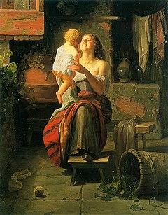 Facchinetti Maternal love.jpg