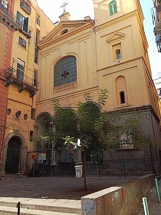 Santissima Trinità degli Spagnoli - Image: Facciata Trinità