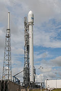 Falcon 9 preparing to launch ASIASAT 8 (16668845950).jpg