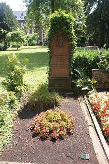 Familiengrab Wasielewski auf dem Alte Friedhof Bonn (Quelle: Wikimedia)