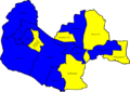 Fareham 2006 election map.png