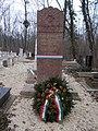 Farkasréti zsidó temető, katonai parcella, Bauer Gyula tábornok sírja, 2016 Budapest.jpg