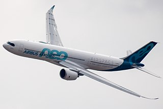 Wide-body jet airliner developed from Airbus A330