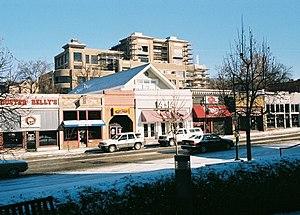 Bars at Dickson Street in Fayetteville, Arkansas