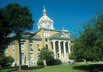 Fayette County, Alabama - Image: Fayette County Alabama Courthouse