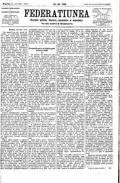 File:Federațiunea 1873-05-03, nr. 34.pdf