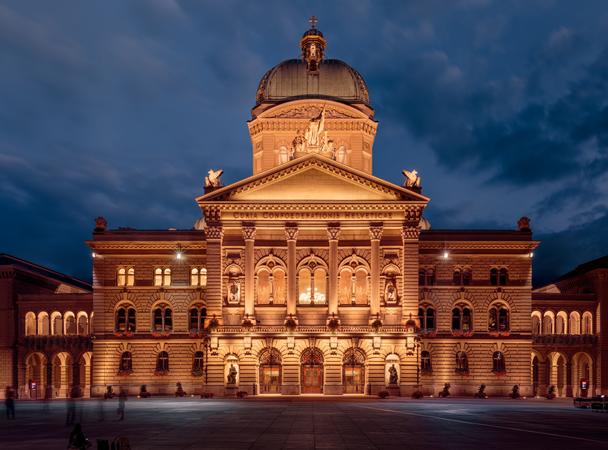Federal Palace of Switzerland during Blue Hour.png
