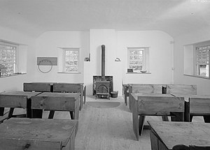 Federal School - Image: Federal School interior HABS