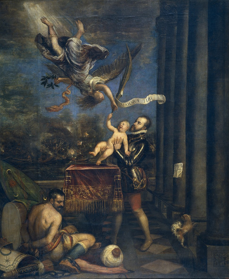 Felipe IV offers Ferdinand to Glory