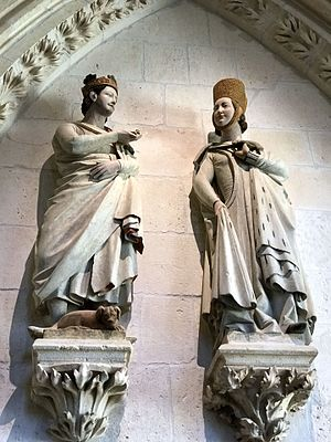 Ferdinand III of Castile - King Ferdinand and his wife, Elizabeth