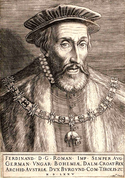 Ferdinand I by Martin Rota