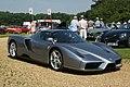 Ferrari Enzo in dark grey Stanford Hall 07-07-13.jpg