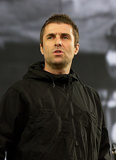 Liam Gallagher English musician and songwriter