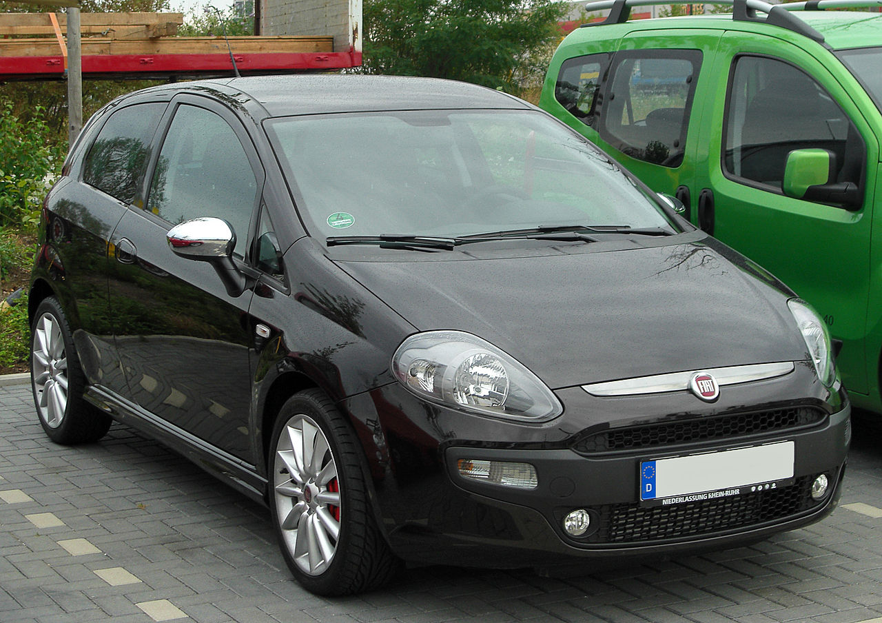 file fiat punto evo front wikimedia commons. Black Bedroom Furniture Sets. Home Design Ideas