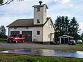Fire station in Kuurola, Kokemäki, Finland.jpg