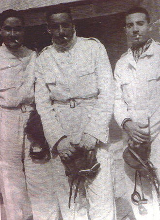 Egyptian Air Force - First three Egyptian pilots